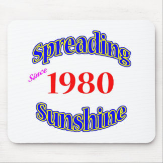 1980 Spreading Sunshine Mousepad
