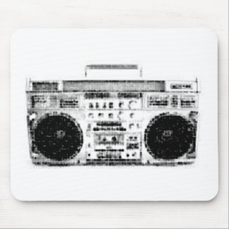 1980s Boombox Mouse Pads