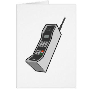 1980s Cellphone Card