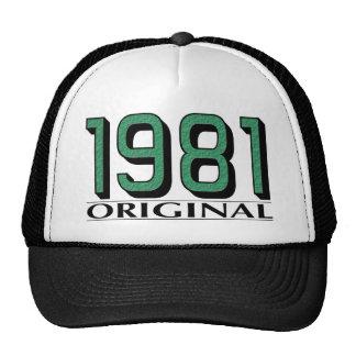 1981 Original Trucker Hats