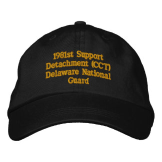 1981st Support Detachment CCT Embroidered Baseball Caps