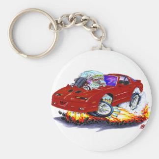 1982-92 Trans Am Maroon Car Key Ring