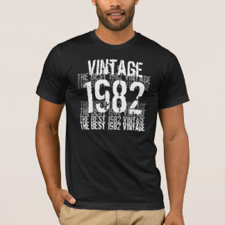 1982 Birthday Year - The Best 1982 Vintage T-Shirt