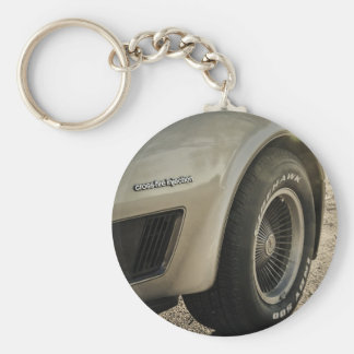 1982 Chevrolet Corvette Collector's Edition Wheel Key Ring