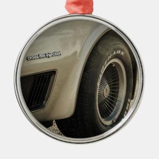 1982 Chevrolet Corvette Collector's Edition Wheel Silver-Colored Round Decoration