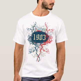 1983 Birthday Year or Since 1983 or Made in 1983 T-Shirt