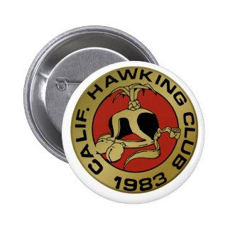 1983 Los Banos 6 Cm Round Badge