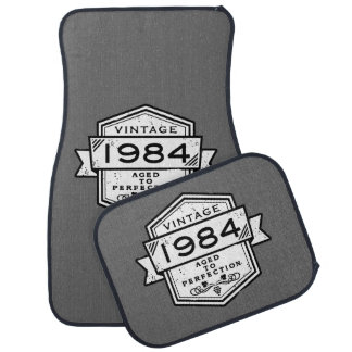 1984 Aged To Perfection Car Mat