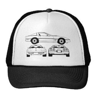 1984 Chevrolet Corvette schematic Cap Hat