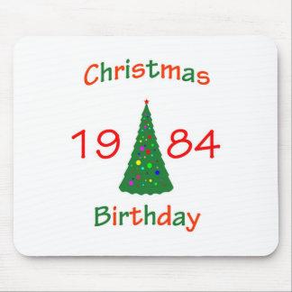 1984 Christmas Birthday Mousepads