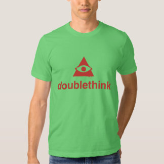 1984 doublethink t-shirt