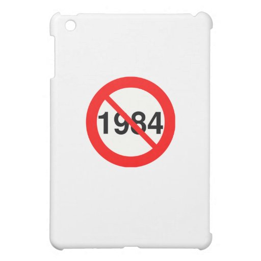 1984 iPad MINI COVER