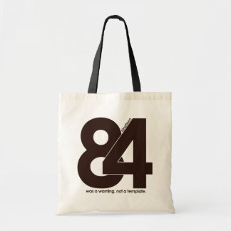 1984 Nineteen Eighty Four Budget Tote Bag
