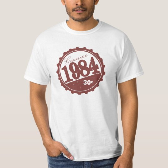 1984 Vintage Bottle Cap Shirt