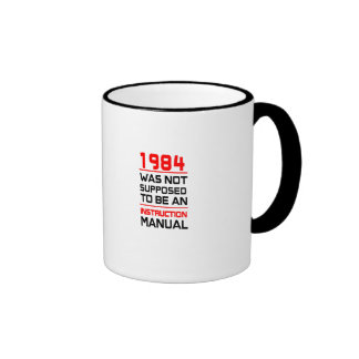 1984 was not supposed to be an Instruction Manual Ringer Mug