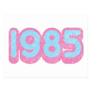 1985 1 POSTCARD