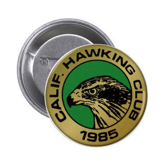 1985 Los Banos 6 Cm Round Badge
