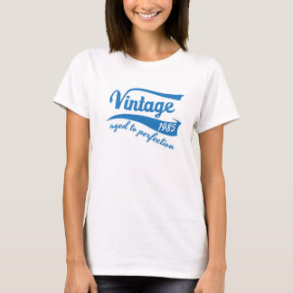 1985 Vintage Aged to Perfection 30th birthday gift T-Shirt