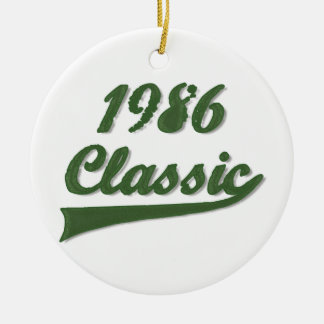 1986 Classic Christmas Ornament