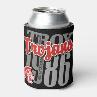 1986 Troy Trojans Can Cooler