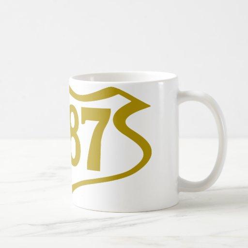 1987-shield.png classic white coffee mug