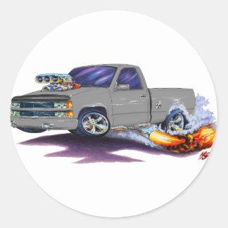 1988-98 Silverado Grey Truck Stickers