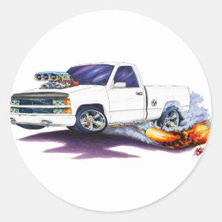 1988-98 Silverado WhiteTruck Stickers