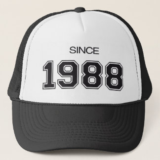 1988 birthday gift idea trucker hat