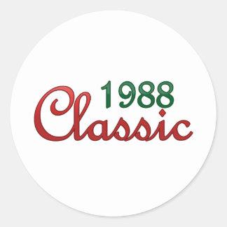 1988 Classic Stickers