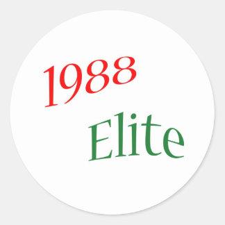 1988 Elite Sticker