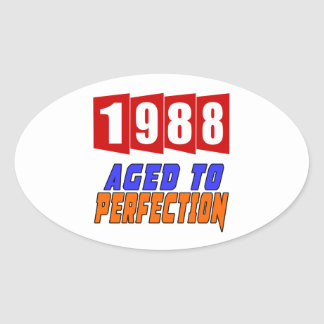 1988 Limited Edition Oval Sticker