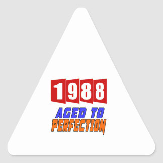 1988 Limited Edition Triangle Sticker