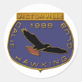 1988 Victorville Round Sticker