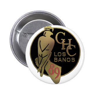 1989 Los Banos 6 Cm Round Badge