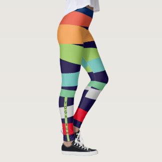 1989 Zebra Colorful Leggings