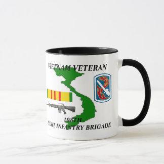 198th Light Infantry Division Vietnam Veteran Mug
