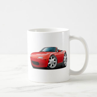 1990-98 Miata Red Car Coffee Mug