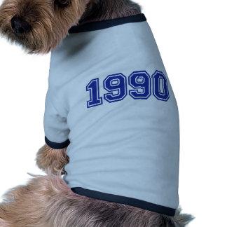 1990 Birthday Dog Clothing