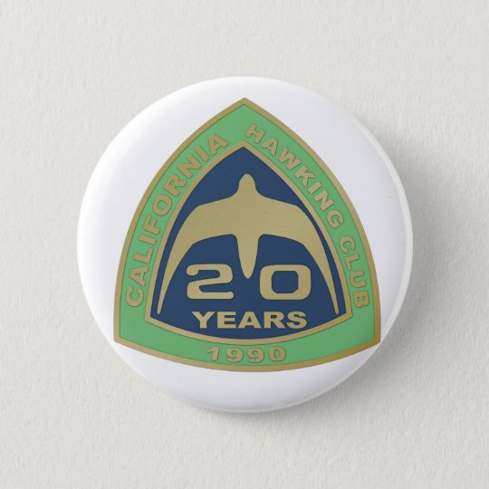 1990 Los Banos 6 Cm Round Badge
