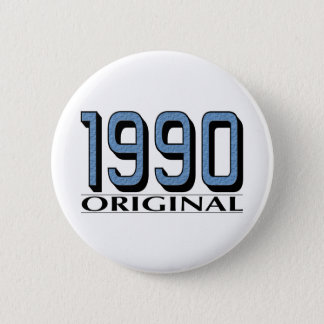 1990 Original 6 Cm Round Badge