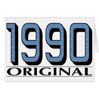 1990 Original Card