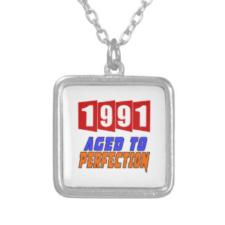 1991 Limited Edition Square Pendant Necklace