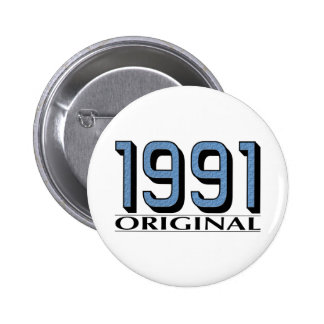 1991 Original 6 Cm Round Badge