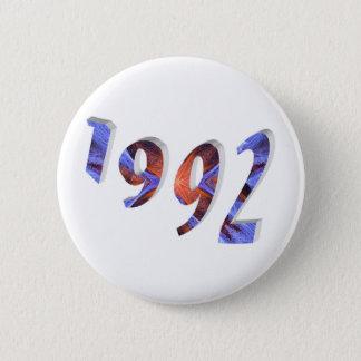 1992 6 CM ROUND BADGE