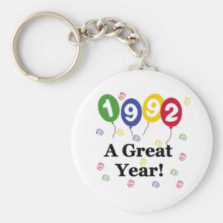 1992 A Great Year Birthday Key Chains