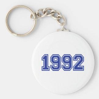1992 Birthday Keychain
