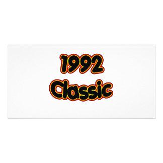 1992 Classic Customised Photo Card
