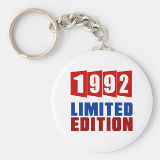 1992 Limited Edition Basic Round Button Key Ring
