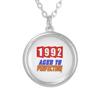 1992 Limited Edition Round Pendant Necklace