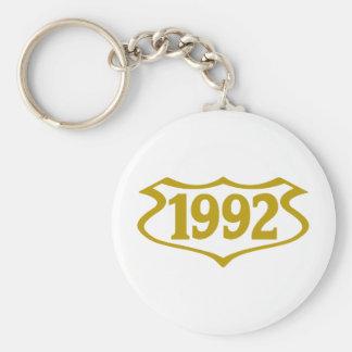 1992-shield png key chain